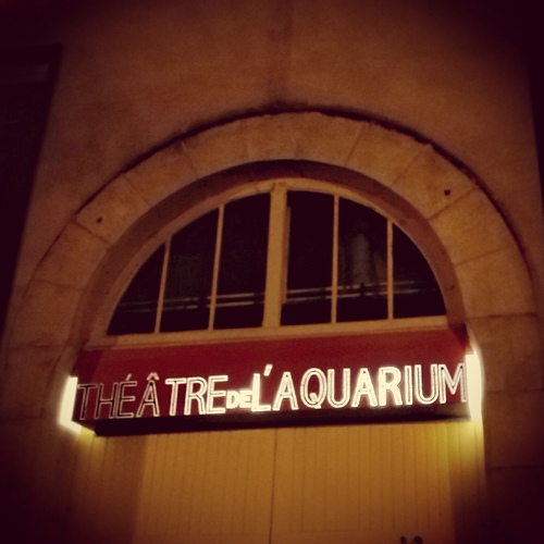 En résidence cette saison au théâtre de l'Aquarium