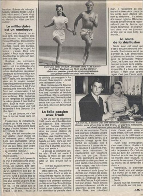Ava Gardner,alia Ruth Sumner-Galveston