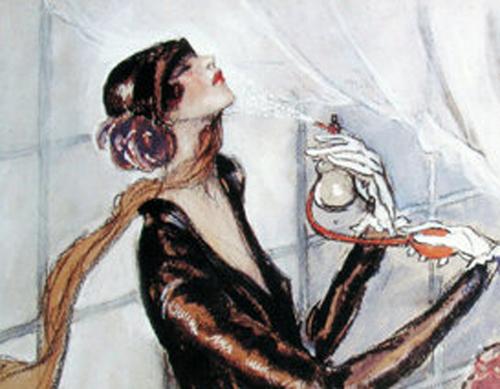 les parfums en 1900;