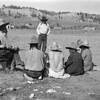 near Lame Deer fairgrounds on the Northern Cheyenne Reservation in Montana1928