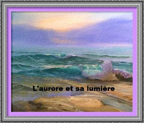Dessin et peinture -  vidéo 2990 : Comment peindre les premières lueurs de l'aurore sur la mer 3 ? - acrylique ou huile.