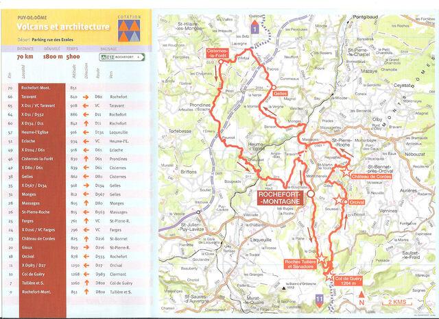 """Le Puy de Dôme à vélo """"12 plans"""""""