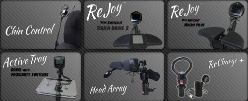 Unités de conduite centrales Active Controls pour fauteuils roulant électriques