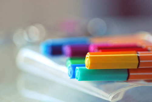 colorful, colors, cute, pens, photo, photography