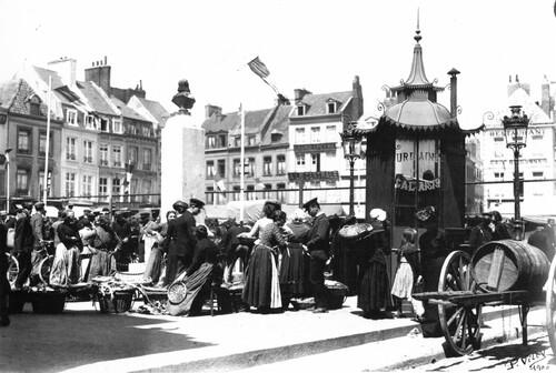 Rues et places éventées de Calais-Nord, 1e partie