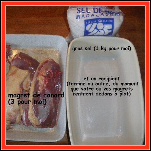 MAGRET DE CANARD SÉCHÉ