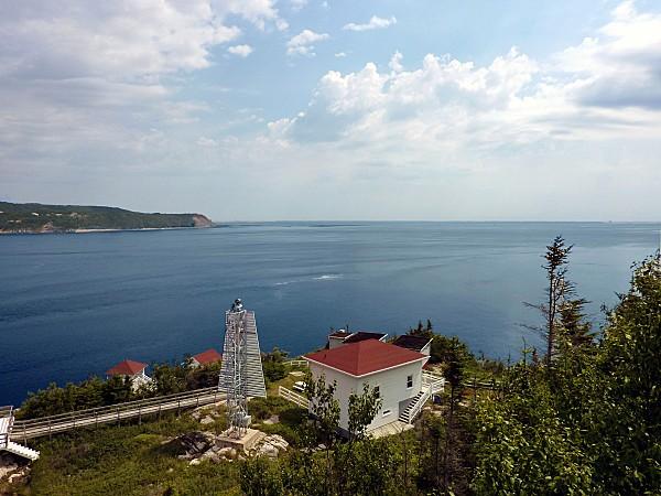 Baie Ste Catherine Fjord du Saguenay entrée