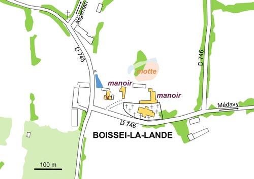 LES REMPARTS DE BOISSEI-LA-LANDE (Orne)