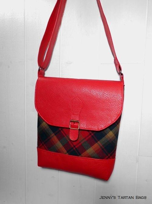 Maple Leaf tartan bag