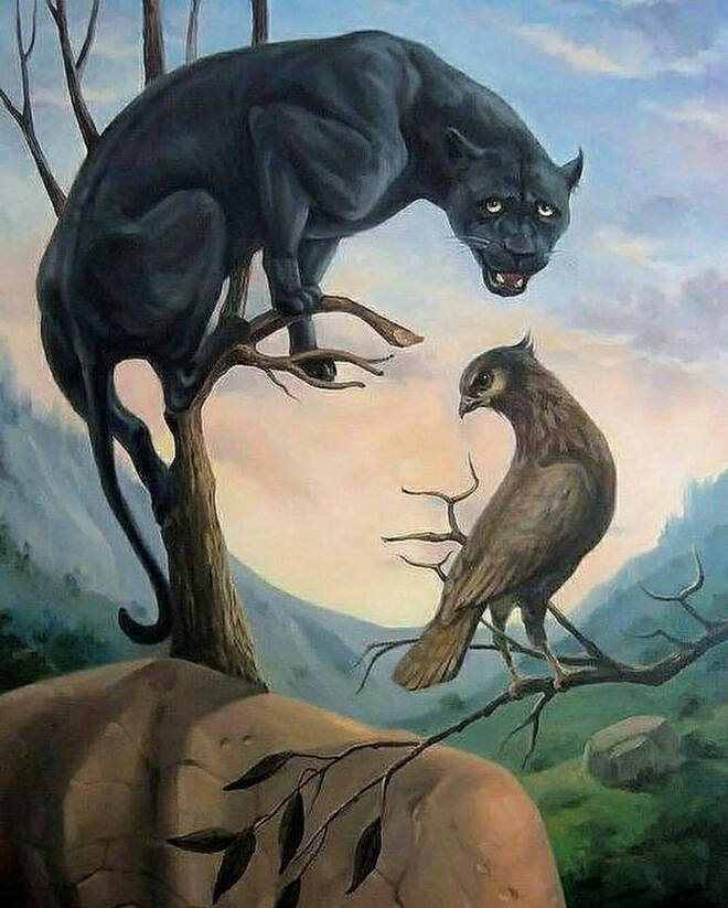 oil painting surreal