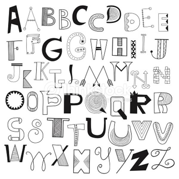 les lettres dans les oeuvres d'art