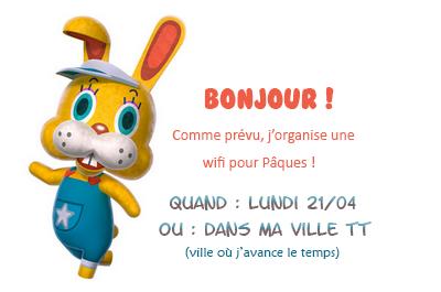 Wifi pour Pâques !