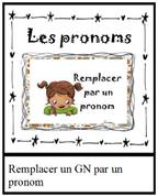 atelier edl : remplacer par pronoms