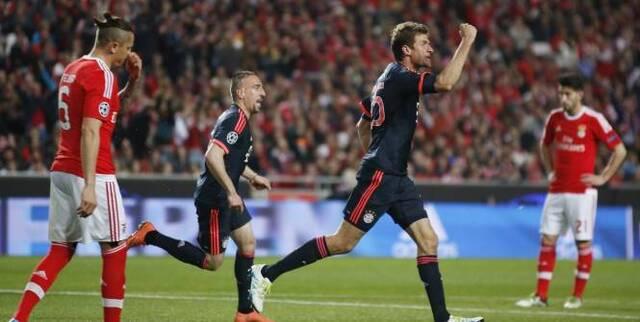 Le Bayern sera encore au rendez-vous des demi-finales. (Marchante/Reuters)