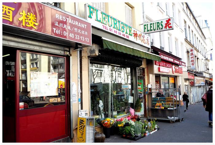 Paris. Rue de Belleville