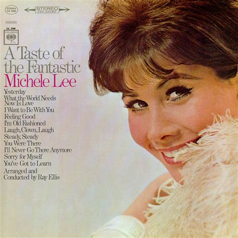 1966: Michele Lee ‎– A Taste Of The Fantastic .