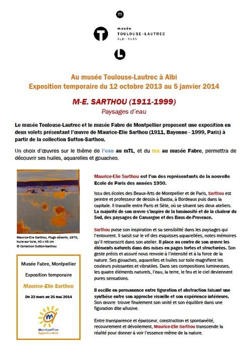 EXPOSITION AVEC ATELIER D'ÉCRITURE