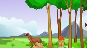 Jouer à Horse cart escape