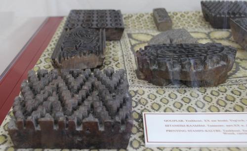 le musée des arts appliqués de Tashkent : broderies