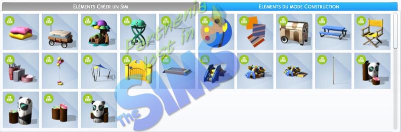 Kit d'objets : Bambins
