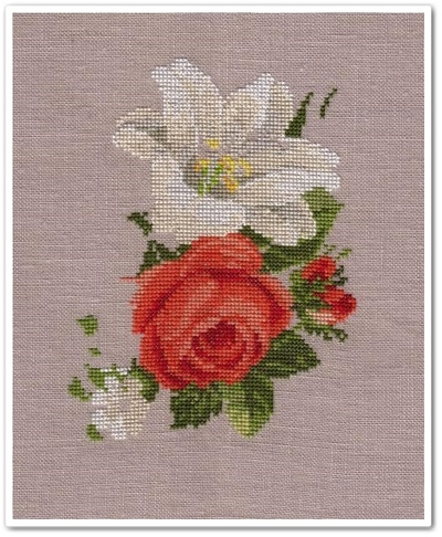 Roses and Lilies 5