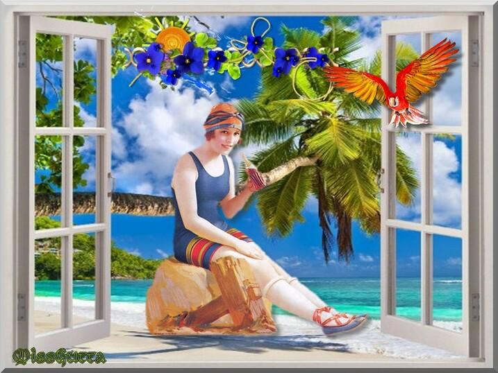 Défi sous les tropique pour amie Marjolaine !