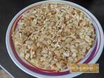 Confiture abricot à la vanille et amandes éffilées