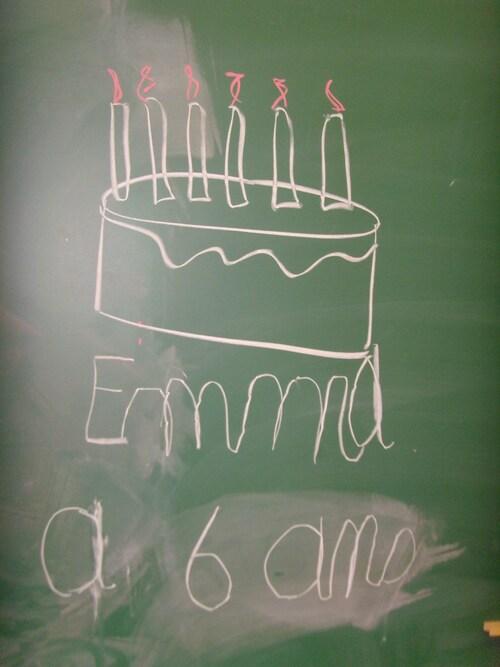Anniversaire de Emma