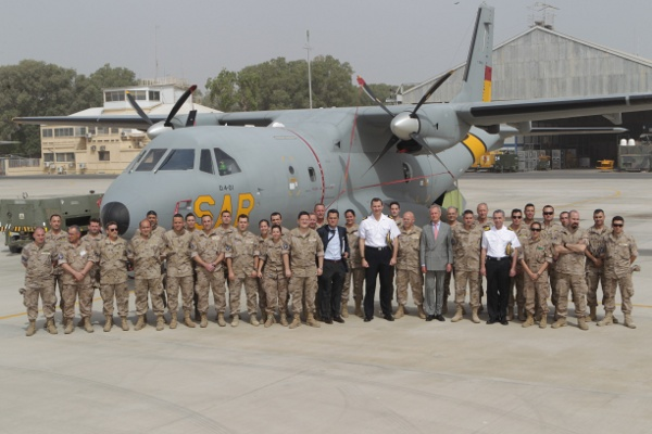 Felipe à Djibouti