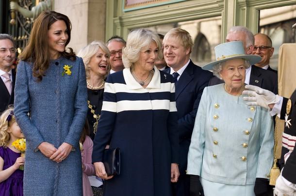 Elizabeth, Camille et Kate