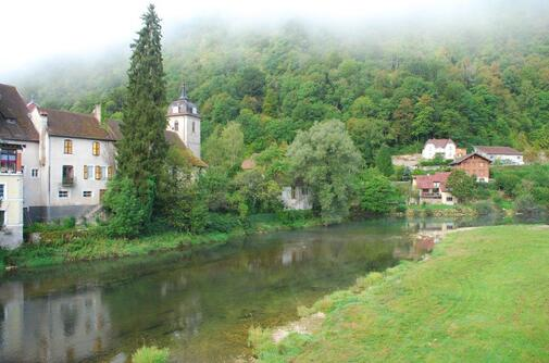 Le Doubs à St Hippolyte
