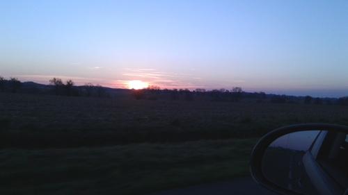 Les levers de soleil en Béarn !