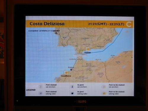 Nous avons fait une croisière aux Canaries et à Madère