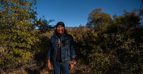 Terre amérindienne sacrée à Oak Flat, Arizona, à échanger au géant minier