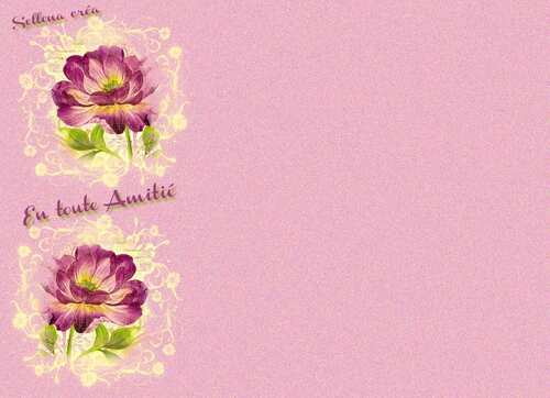 Papier **Entoute Amitié**