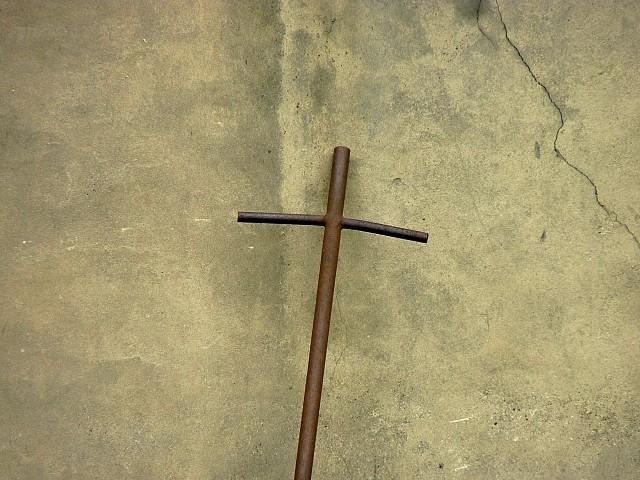 Une croix au Grand Séminaire 1 Marc de Metz 2012