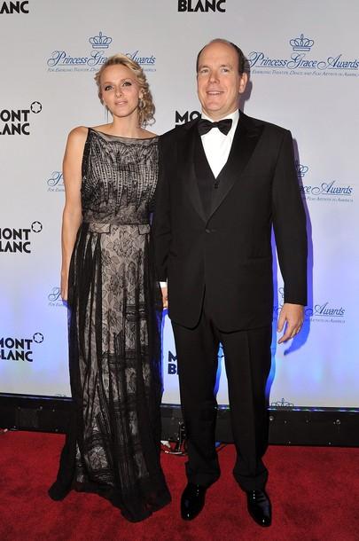 Charlène et Albert à New York