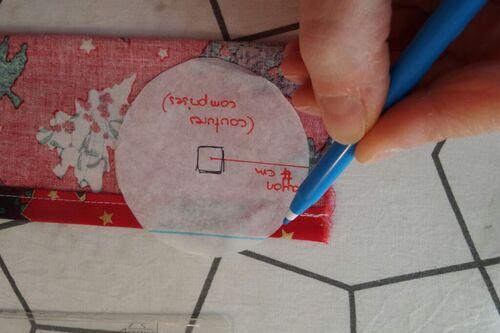 Coudre un calendrier de l'Avent (6) : la couture des boules