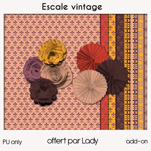 Escale vintage