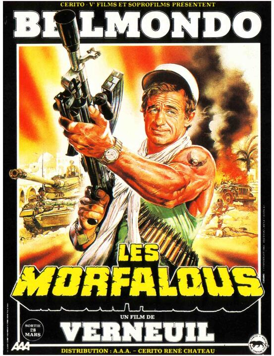 LES MORFALOUS - BOX OFFICE JEAN-PAUL BELMONDO 1984