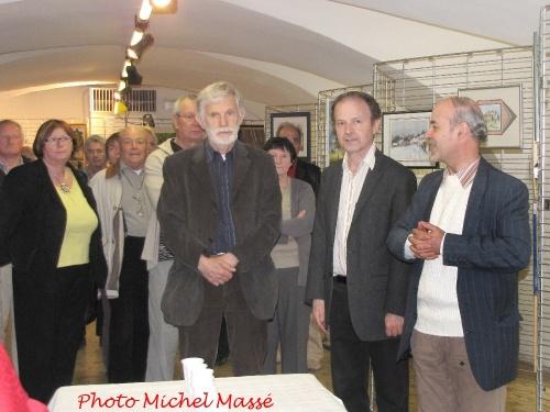Le Salon des Peintres des Amis du Châtillonnais a été inauguré samedi 12 mai...