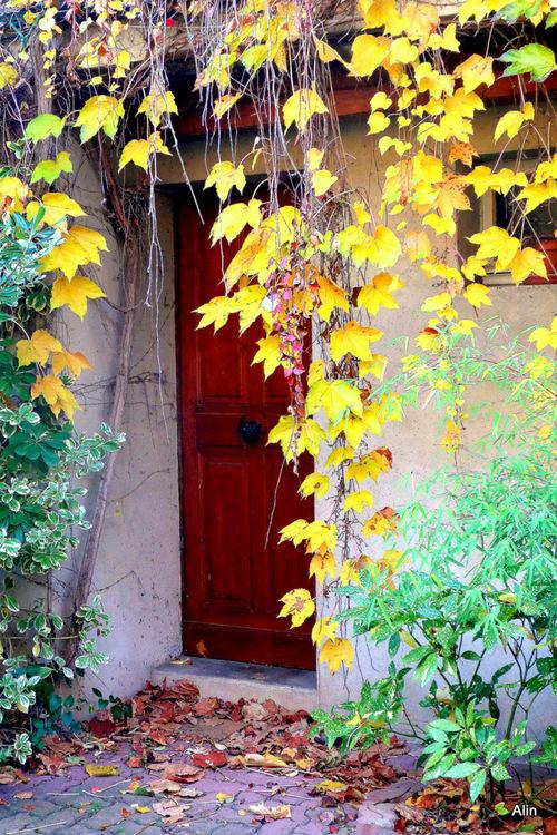 Une porte ...