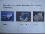 """Dixième exposé """"Les minéraux"""""""