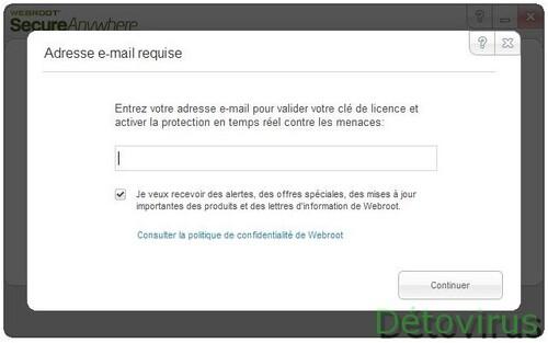 SecureAnywhere Antivirus 2013 - Licence 6 mois gratuits