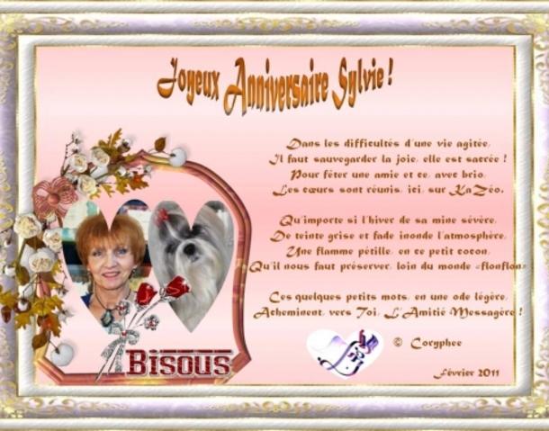 Joyeux Anniversaire Sylvie Le Jardin Des Sens