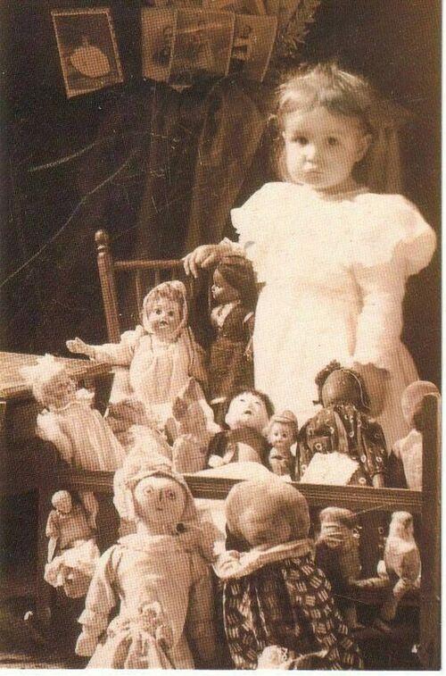 s'occuper des poupées !!