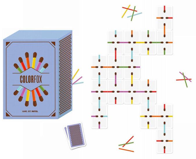 Colorfox, jeu de cartes