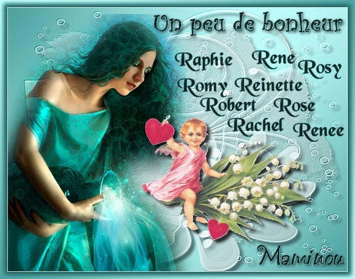 PORTE  BONHEUR  (R)