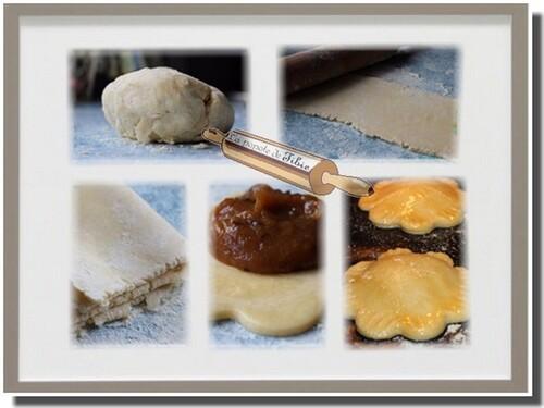Mini galette pommes pruneaux