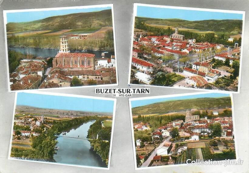 """CPSM FRANCE 31 """"Buzet sur Tarn """"   31 haute garonne : autres communes (31)    Ref: 73973   collection-jfm.fr"""